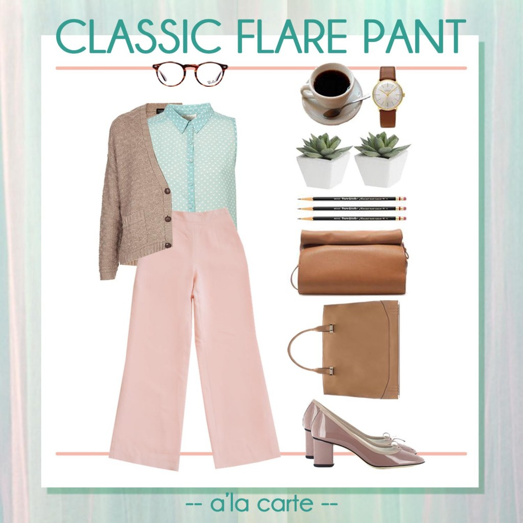 classic flare pant lookbook2